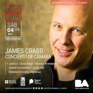 Usina Musical y el British Council Argentina te invitan a disfrutar de #JamesCrabb http://bit.ly/2mnoPsE