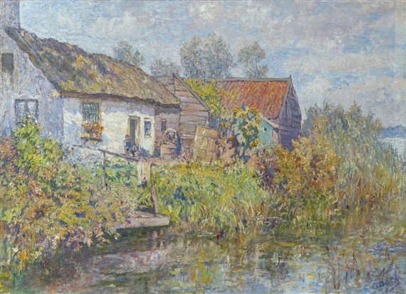 #ArtSaturday Anna Boch Impressionists liked to paint nature and to paint in the outdoors https://t.co/CGSb1TtuVe