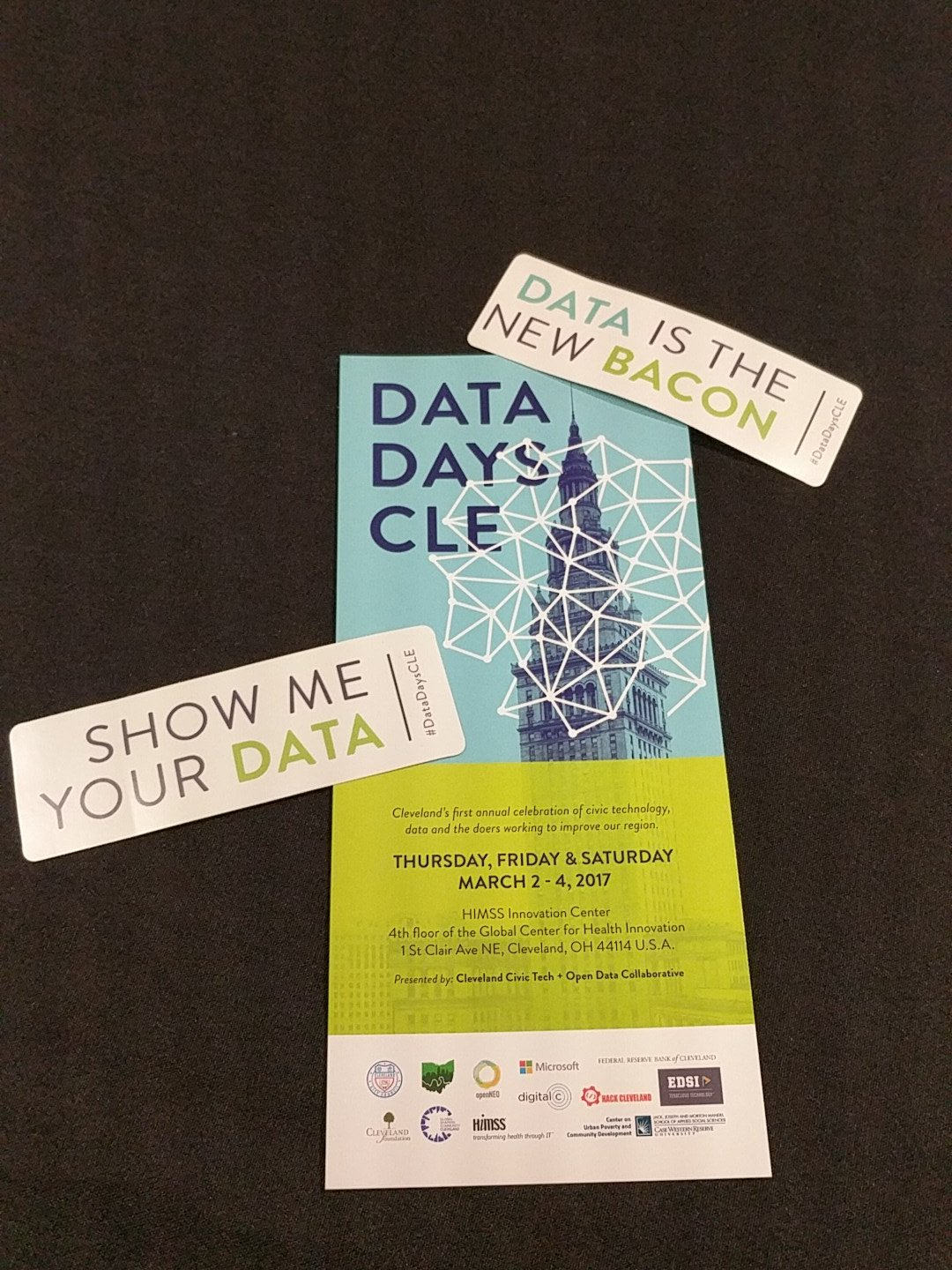 Pumped to celebrate #OpenDataDay2017 at #datadayscle! #showmeyourdata #dataisthenewbacon https://t.co/qVgqzXgxuL