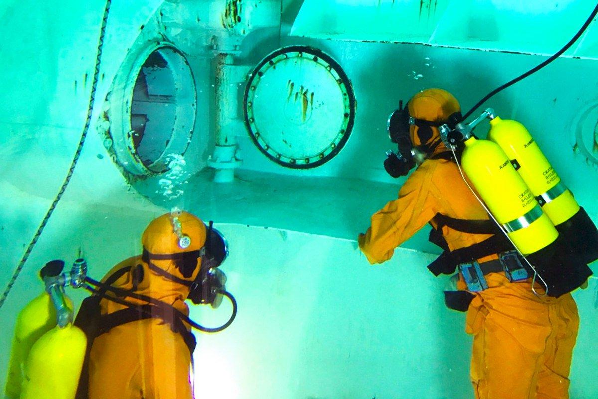 подводная лодка сдача