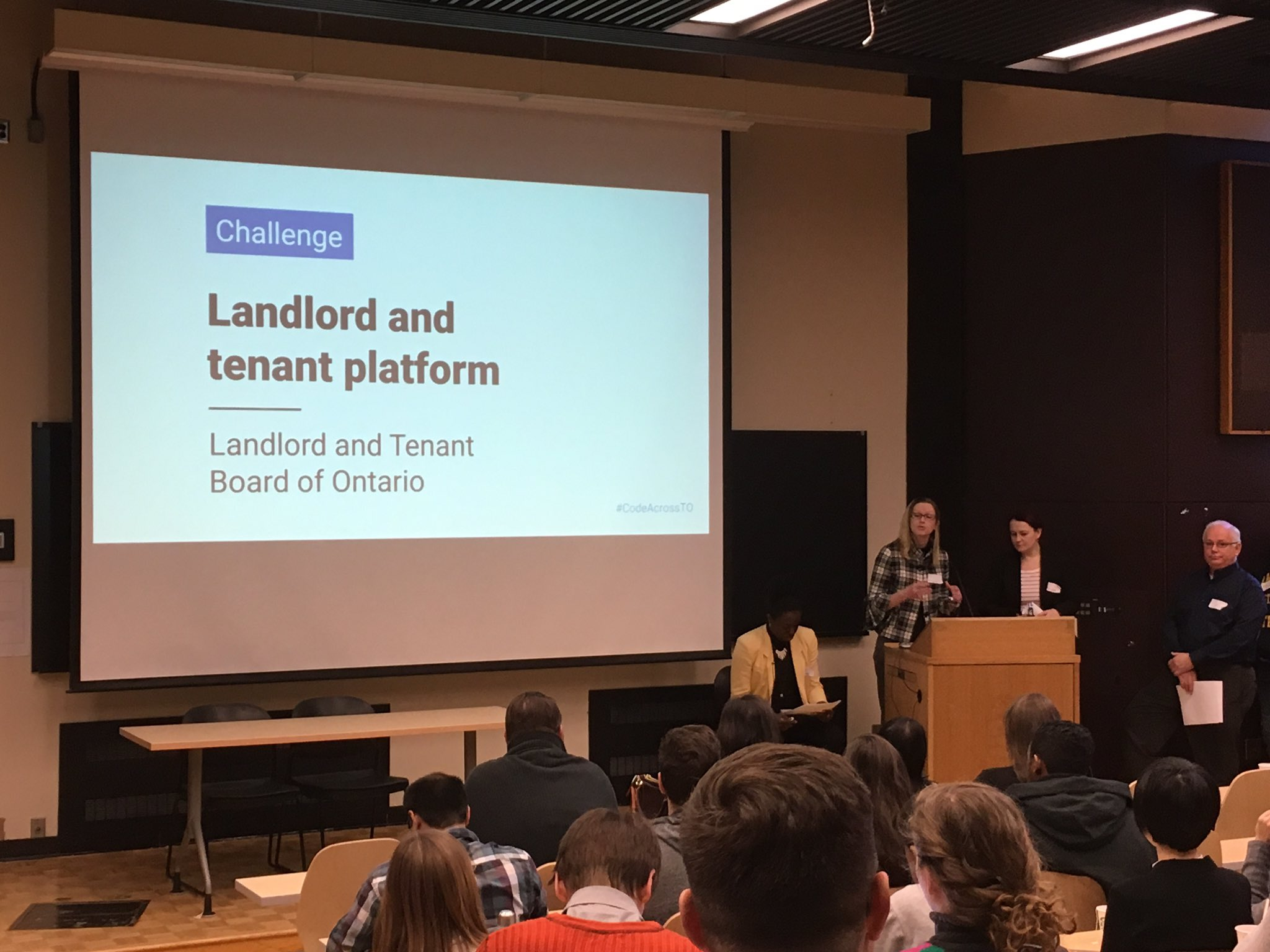 Landlord and Tenant Board of Ontario here with their challenge. Help tenants & landlords avoid having to appear before the LTB #CodeAcrossTO https://t.co/3SmQK4ZGom
