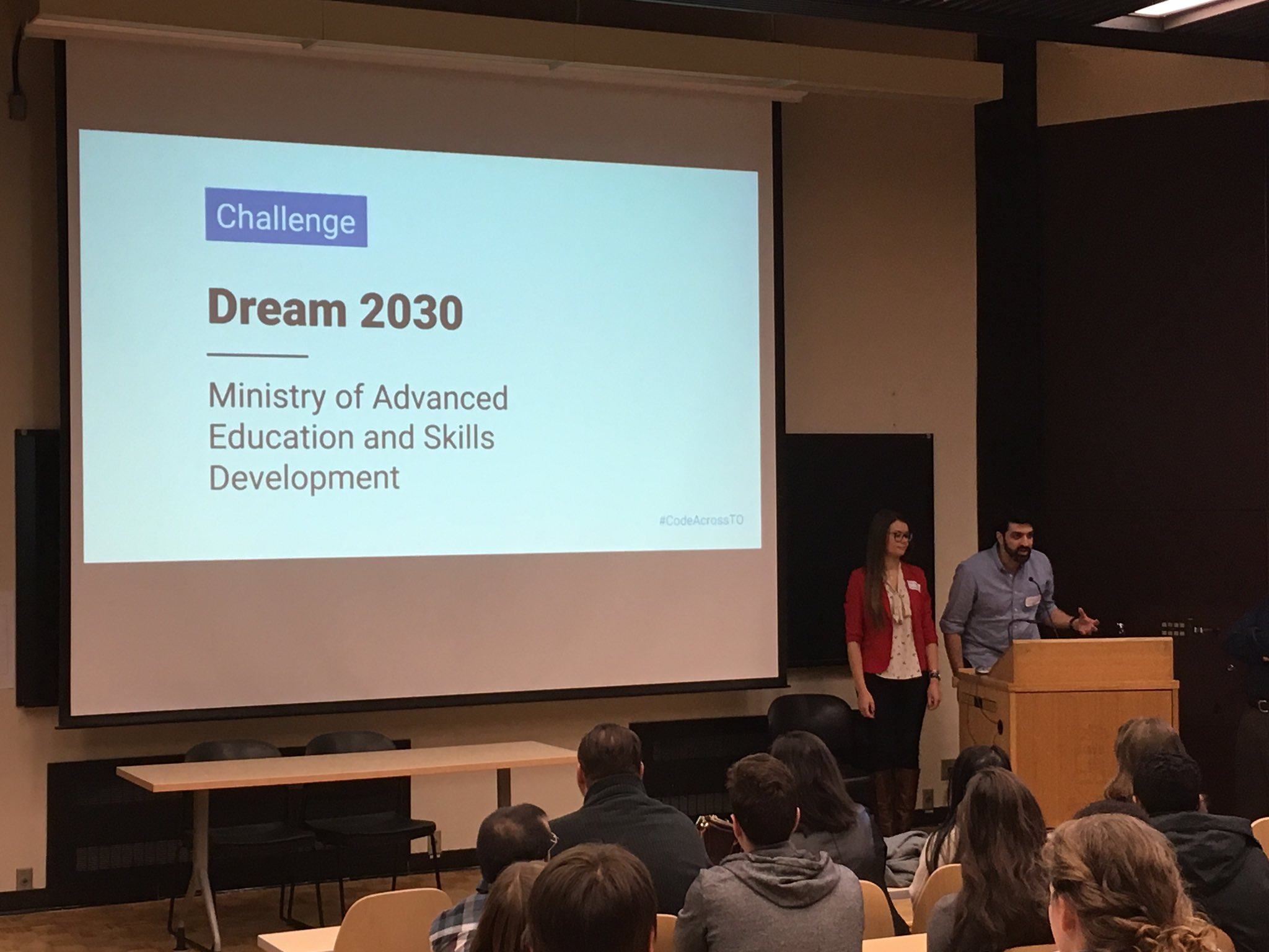 Ministry of Advanced Education and Dkills Dev. re-imagining the digital experience for students choosing post-secondary #CodeAcrossTO https://t.co/GlnAeliMAM