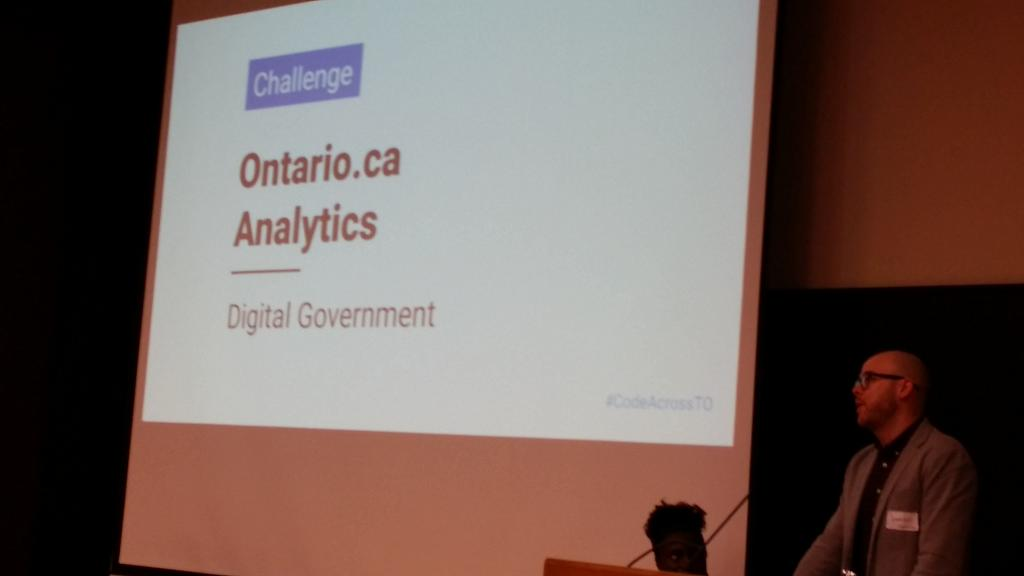 Ontario.ca a challenge owner  at #civictechto #CodeAcrossTO also hiring https://t.co/3bQJfz9hyx