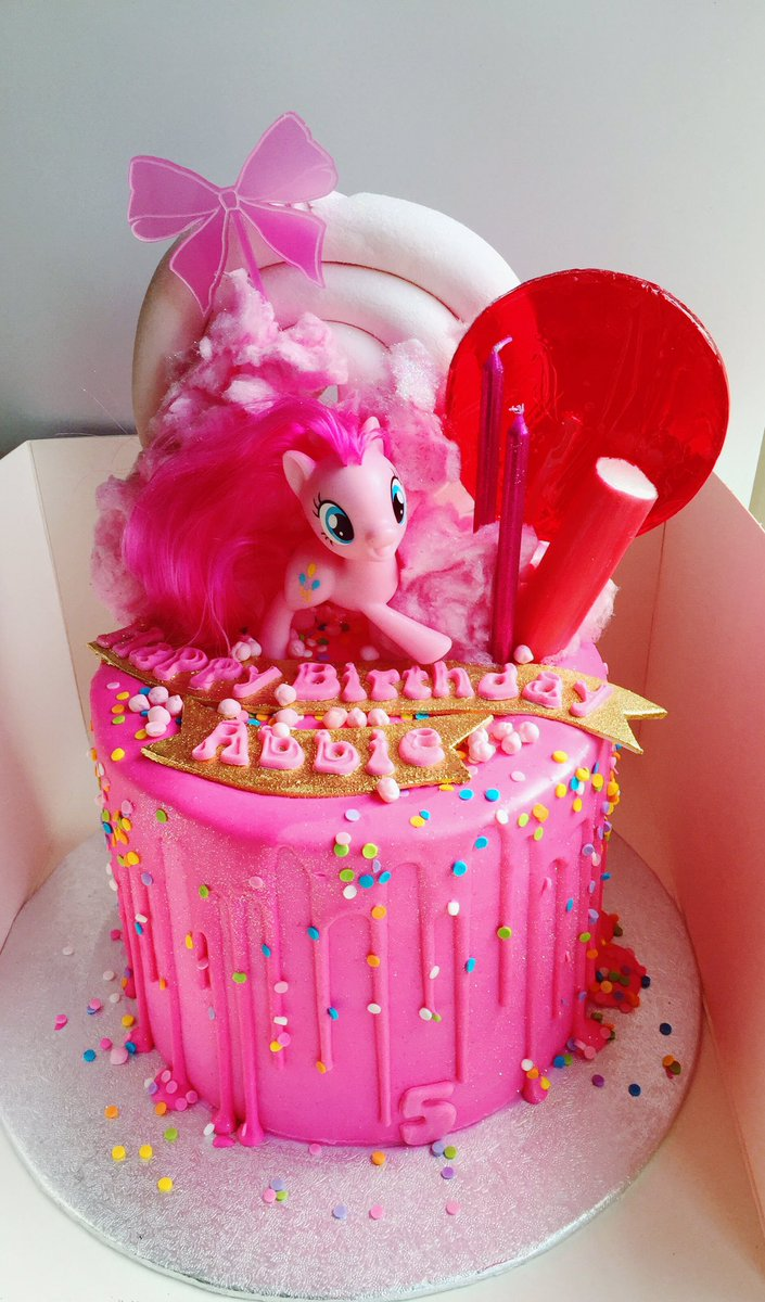 Claire On Twitter Pinkie Pie Birthday Cake For My Little Abbie
