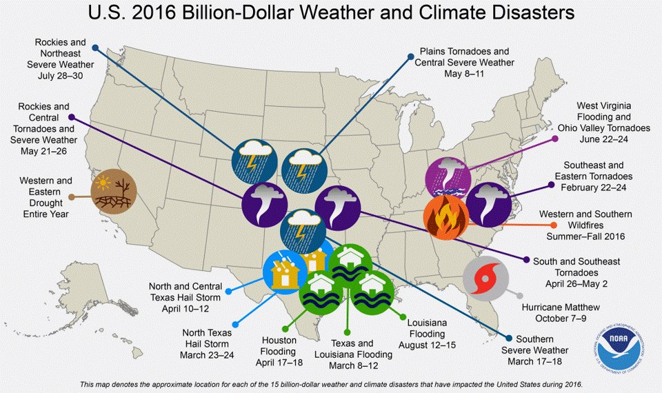 Paul Douglas On Twitter Us Weather Related Natural Disaster - Us-disaster-map