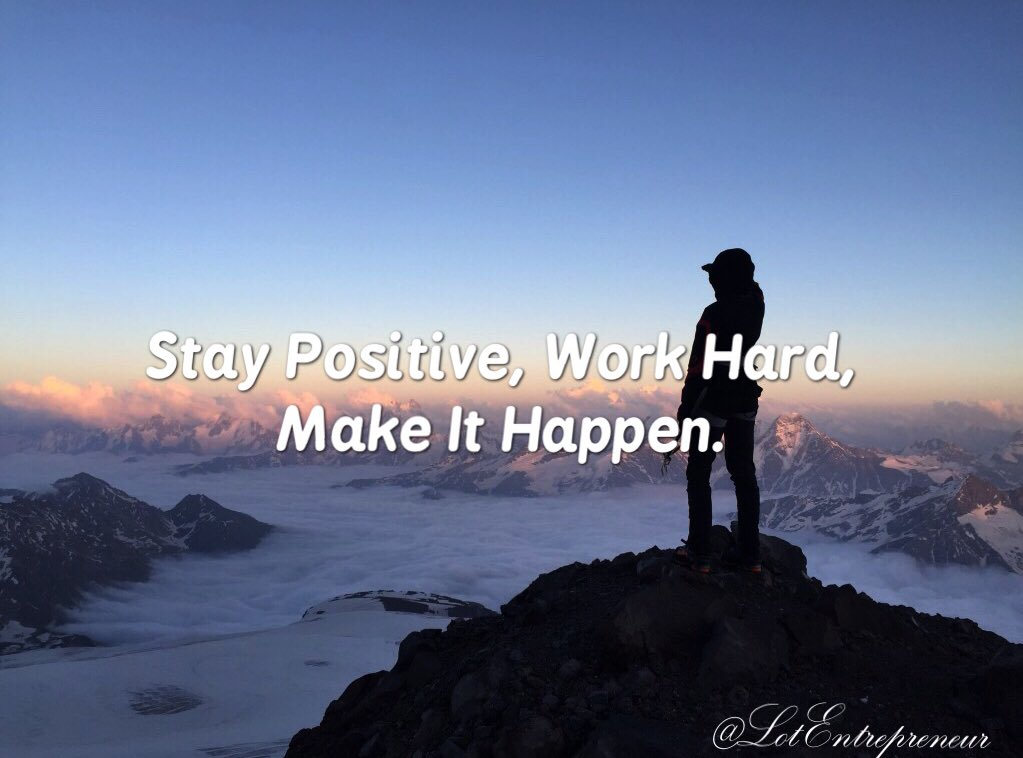 "Tips For Success On Twitter: ""Stay Positive, Work Hard"