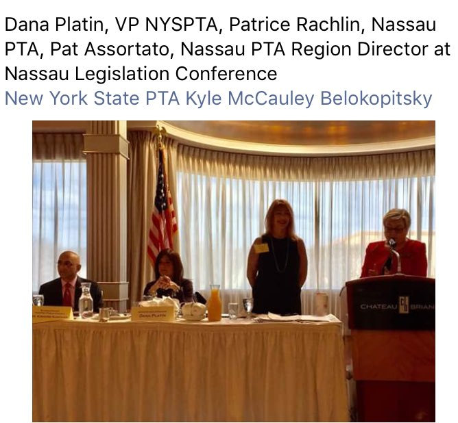 #whyPTA #AdvocacyisImportant Thank you @NassauPTA for hosting this event! https://t.co/GqP4dNWoTo