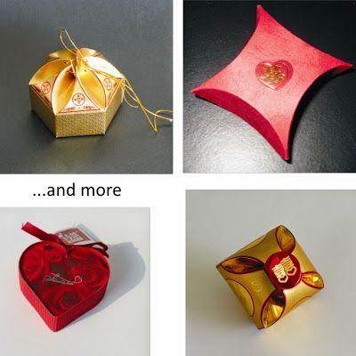 Round-up DIYs. Creative gift boxes.