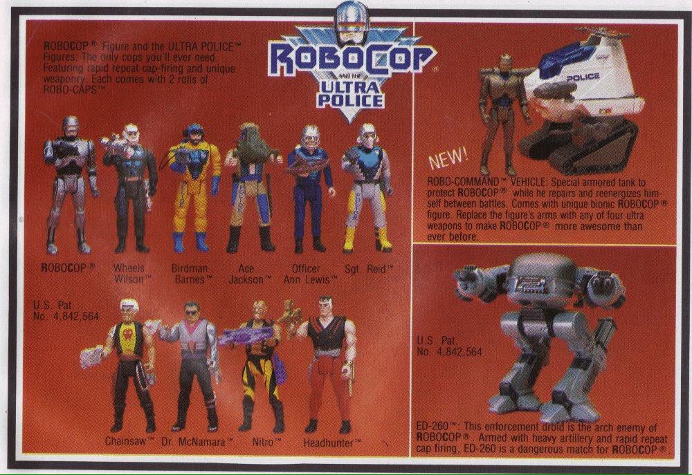 RT @reactionfigure: RoboCop and the Ultra Police. https://t.co/4Mw2e0JpGj