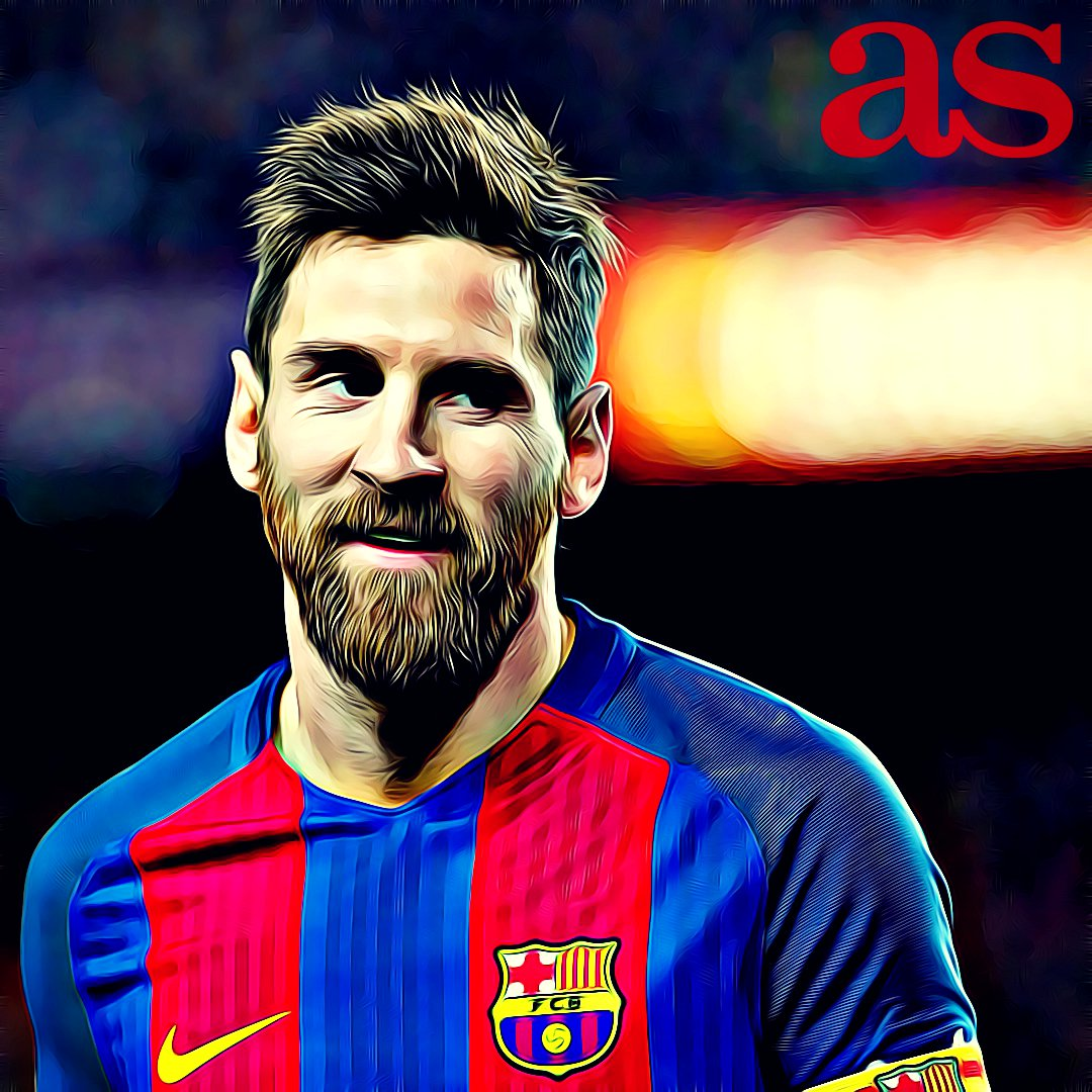 AS on Twitter Un Messi de dibujos animados acaba con el Celta