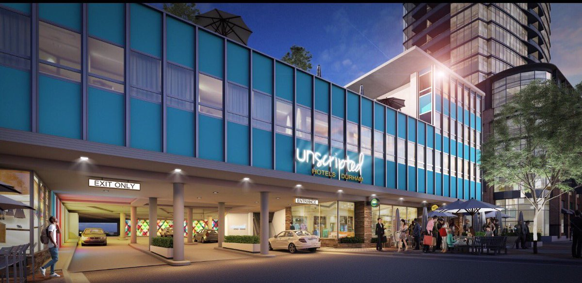 Frank Degraaf On Twitter New Renderings Of Unscripted Hotel And