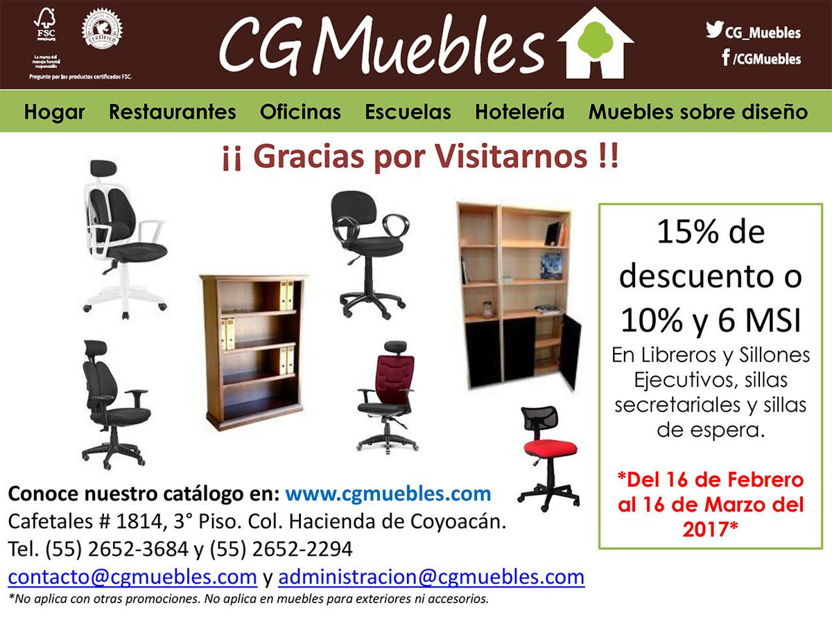 Cgmuebles Hashtag On Twitter # Muebles Coyoacan
