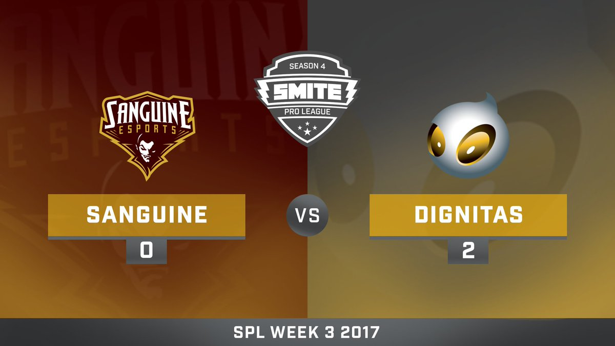 Sanguine vs Team Dignitas