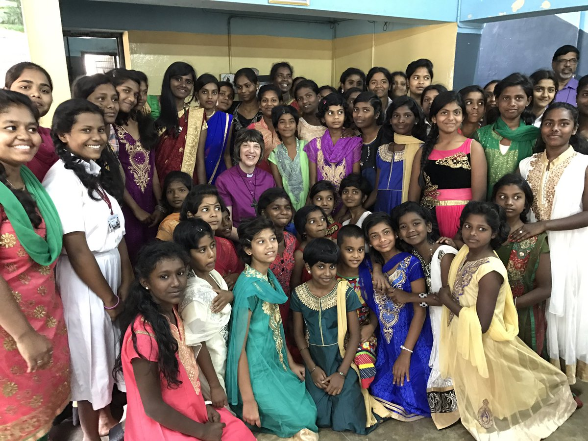 Bishop Rachel visits Indian link dioceses