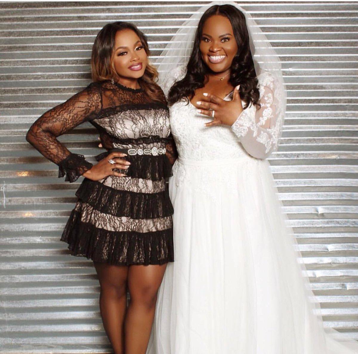 "Tasha Cobbs Surprise Wedding Photos: TV One On Twitter: "".@PhaedraParks At @tashacobbs Wedding"