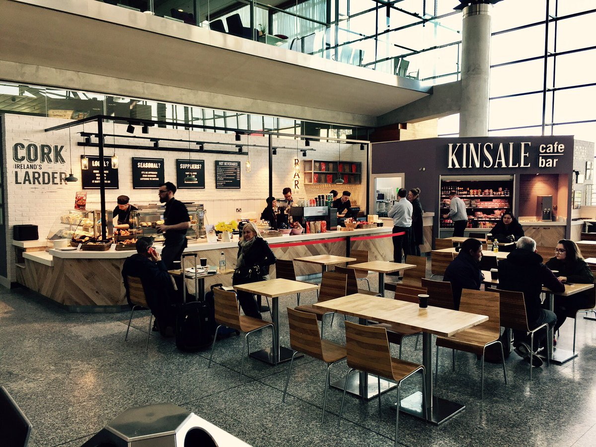 "cork airport on twitter: ""our second new food & beverage outlet"