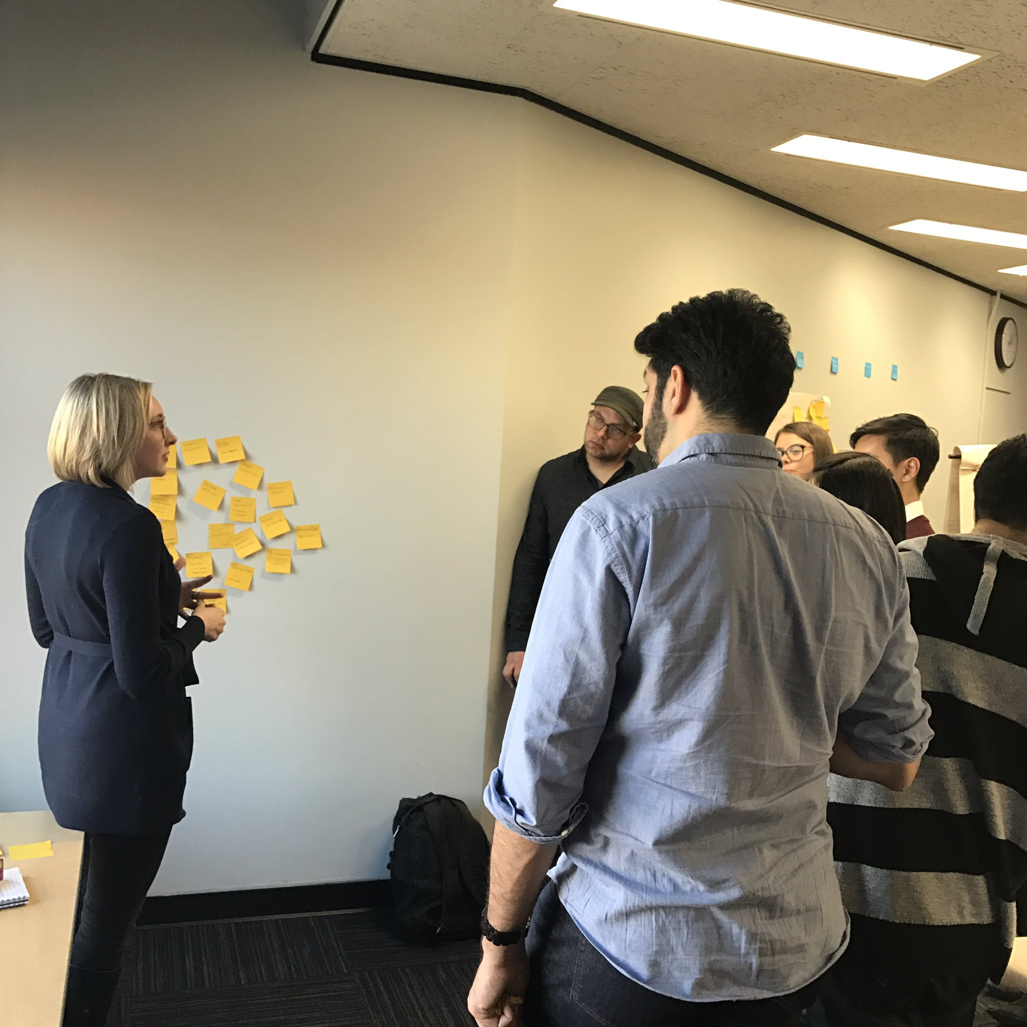 Reviewing breakout group work to strategize ways #highereducation should adapt to changing world at #CodeAcrossTO https://t.co/uY6JkmGqSI