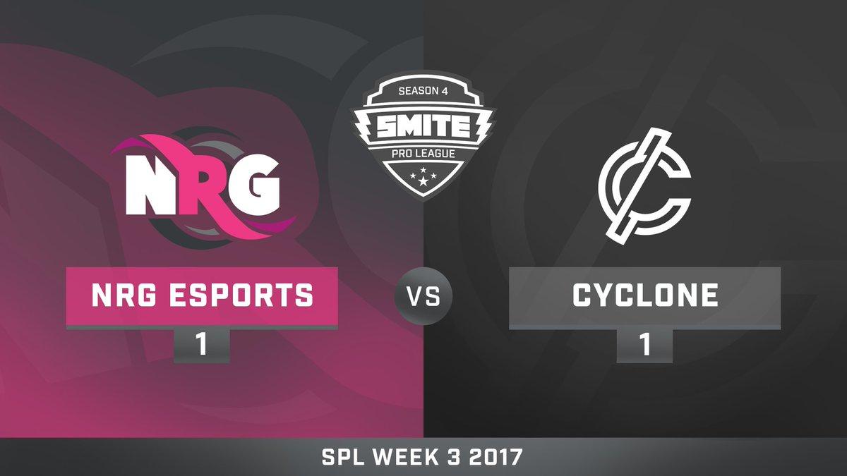 NRG eSports vs CycloneGG