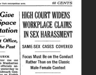 1998 supreme court sexual harassment pics 967