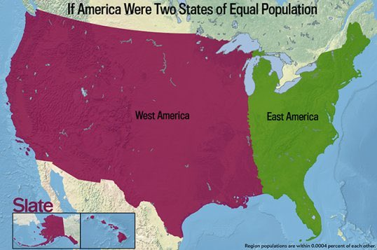 Wynn Wygal On Twitter Thanks Businessinsider For These - Dystopian us map