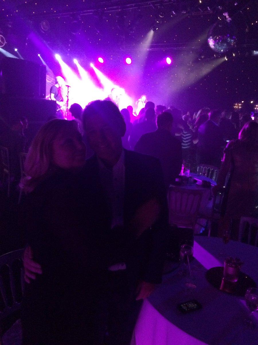 Amazing party @NatashaMMM @deaconbluemusic