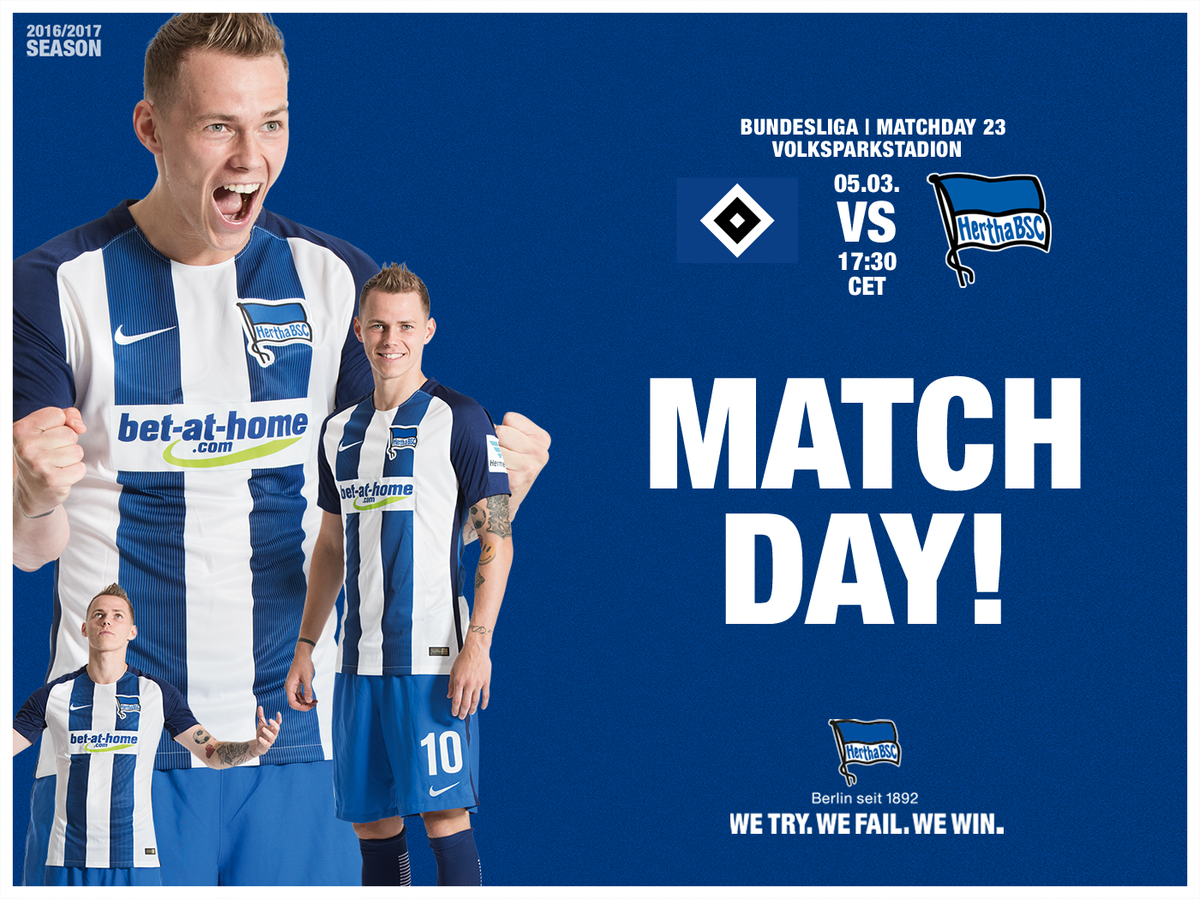 hamburg vs hertha berlin