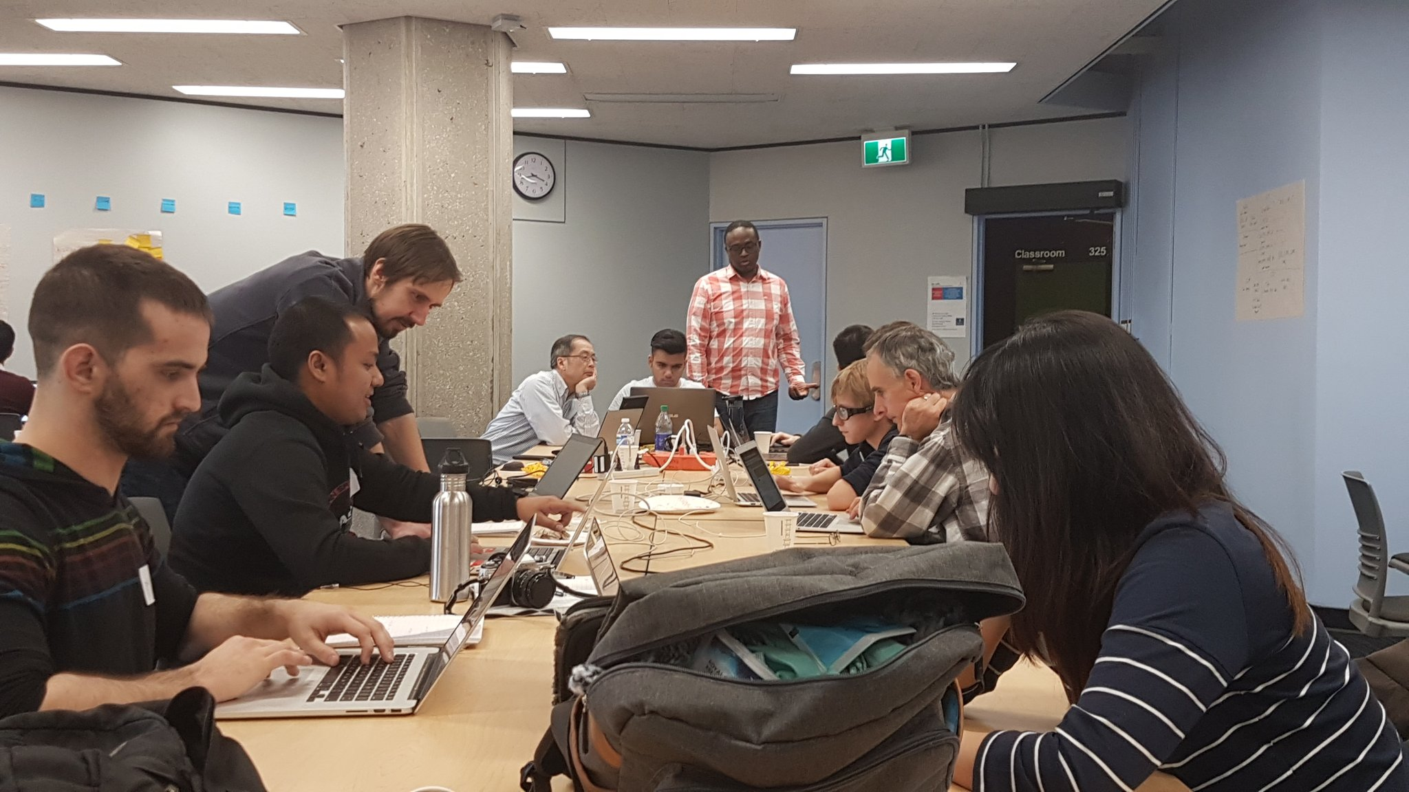 """Overheard at #CodeAcrossTO : """"There will be a last minute scramble, but we'll be ready to go when it's time."""" #digitalpathway #onpoli https://t.co/HtOB5vANyT"""