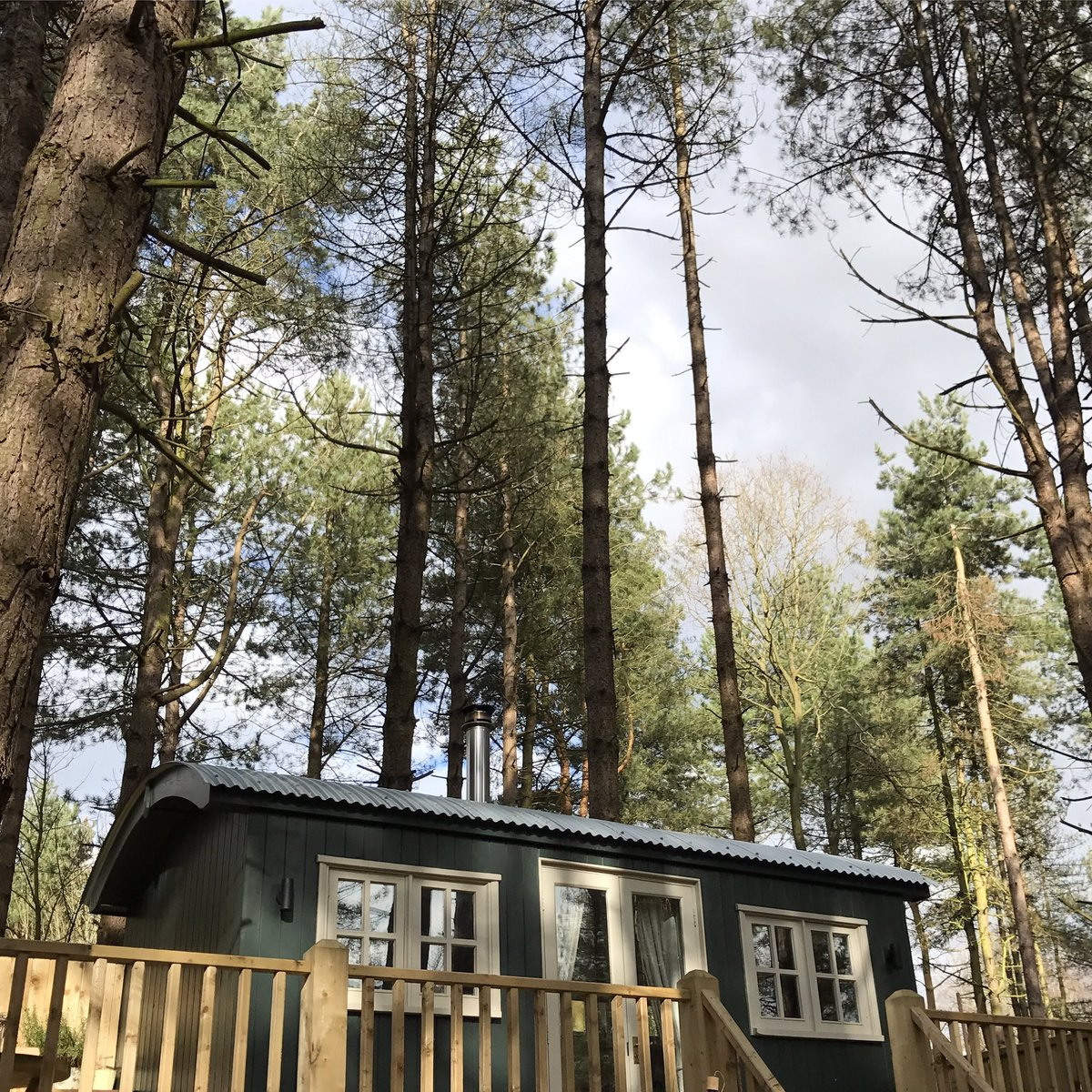 #glamping in #norfolk in February is still pretty special. #minibreak  #shepherdshut #forestbathing #visitnorfolk #boutiquecamping  #escapepic.twitter.com/ ...