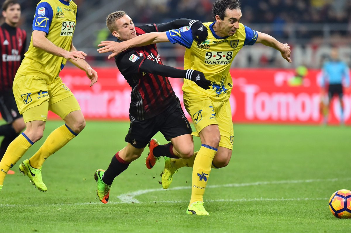 Video: AC Milan vs Chievo