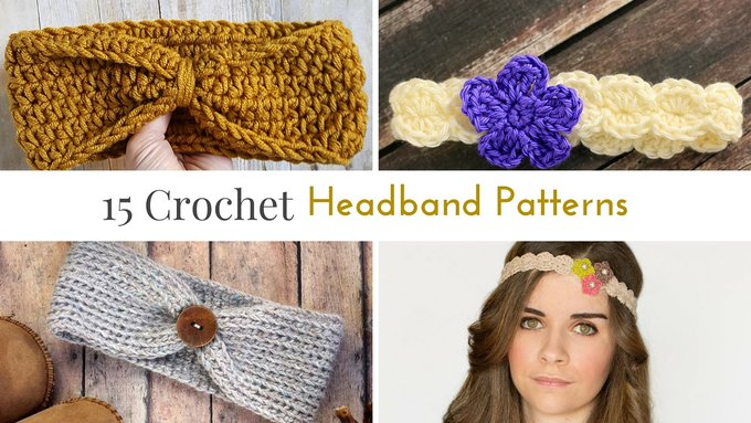 15 Free Crochet Headband Patterns