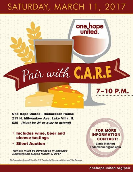 test Twitter Media - RT @FLchildren1: Pair with CARE is on March 11th to benefit @1hopeunited of Lake County https://t.co/7aEG1HmbSg https://t.co/8kKkTfPgY2