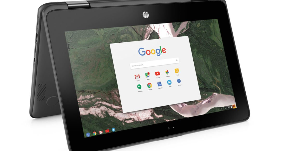 Google reveals HP's Chromebook for schools coming out in April