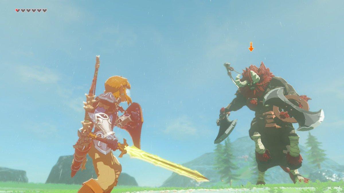 Brellom On Twitter Zelda 1 Monsters Botw Monsters This Breathofthewild Nintendoswitch