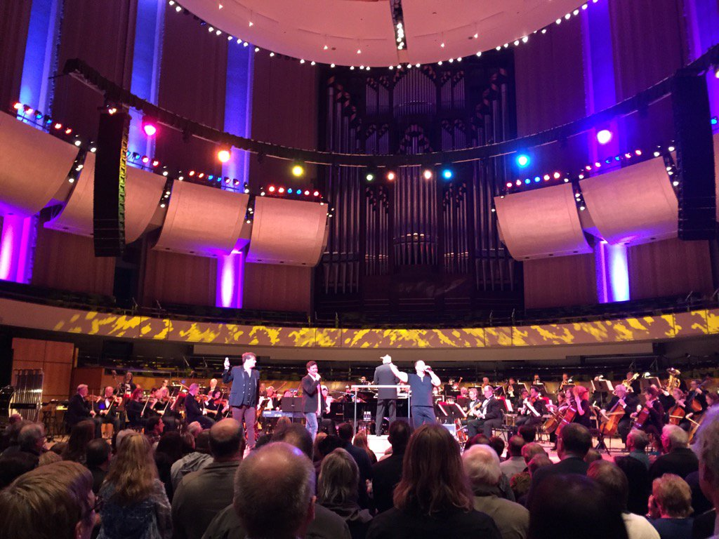 Celebrating the sheer joy of music with @edmsymphony! #rockicons #listentothemusic <br>http://pic.twitter.com/eV4kHzFSO4
