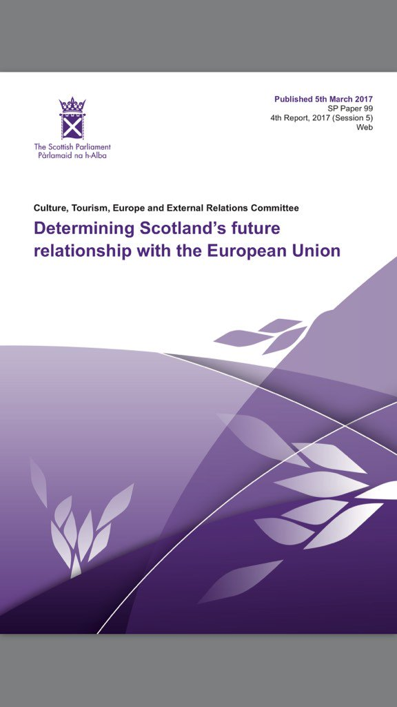 Entire x-party @SP_European committee clear in its report today-ALL non-reserved powers must come back to Scotland https://t.co/izXJRZRTwT