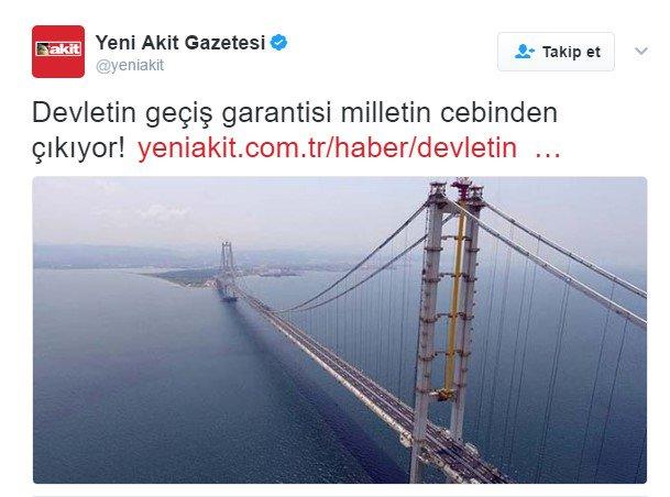 Yeni Akit'in paylaşım rekoru kıran haberi... Doğru habere yorum yağdı cumhuriyet.com.tr/haber/turkiye/…