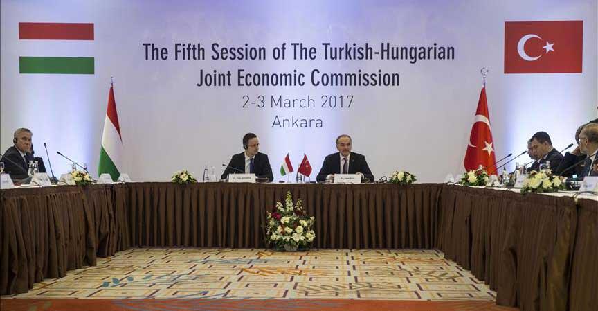 Turkey, Hungary aim to boost trade to $5 billion