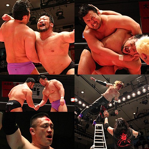 """BJW: Resultados """"Ikkitousen - Death match Survivor"""" 05/03/2017 - Inicia la sangrienta batalla por la supremacía; Daisuke Sekimoto retiene su cinturón 9"""
