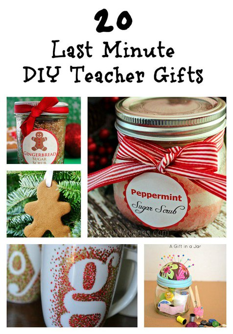 20 Last Minute DIY Teacher Gifts #diy #gifts