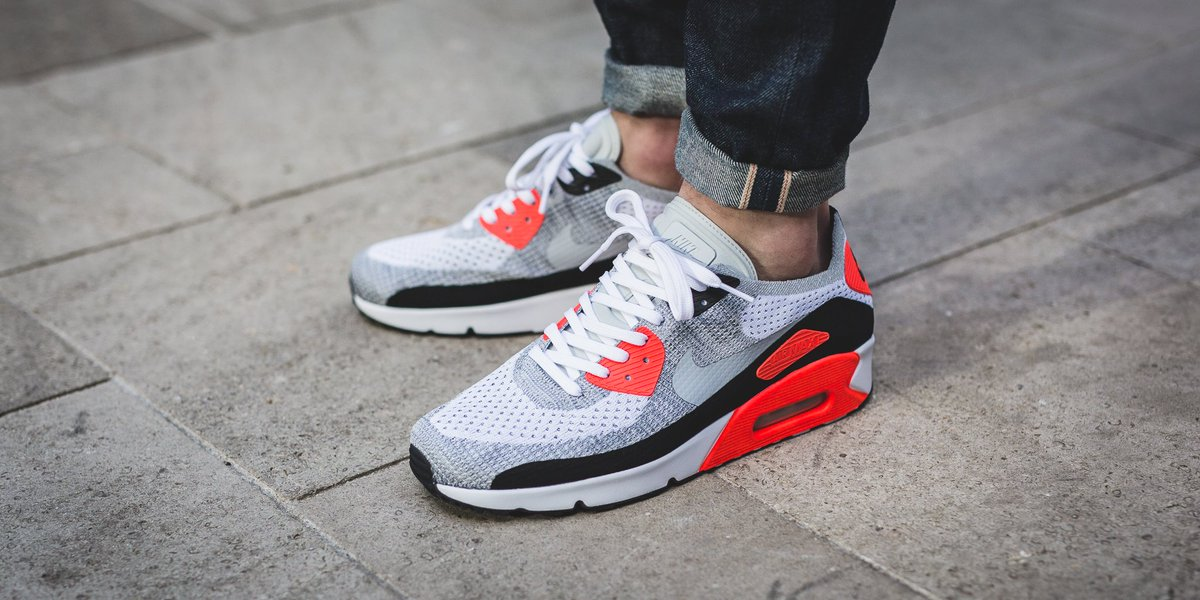 269ef80f6afea6 Air Max 90 Ultra Infrared On Feet beardownproductions.co.uk