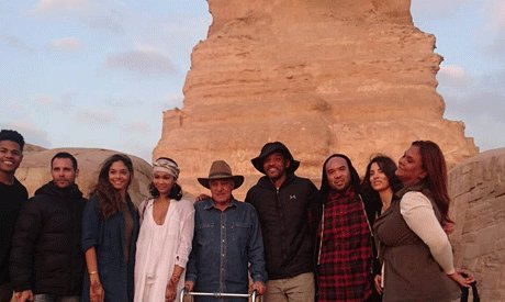 Hollywood star #WillSmith visits #Egypt Giza pyramids  https://t.co/y4t6oBNMc9