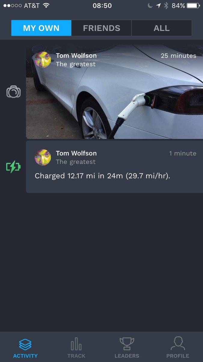 Talking Tesla on Twitter: