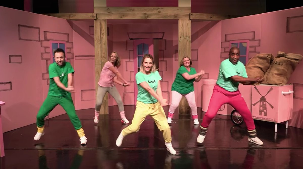 vice on twitter the dancing pink windmill kids have recreated