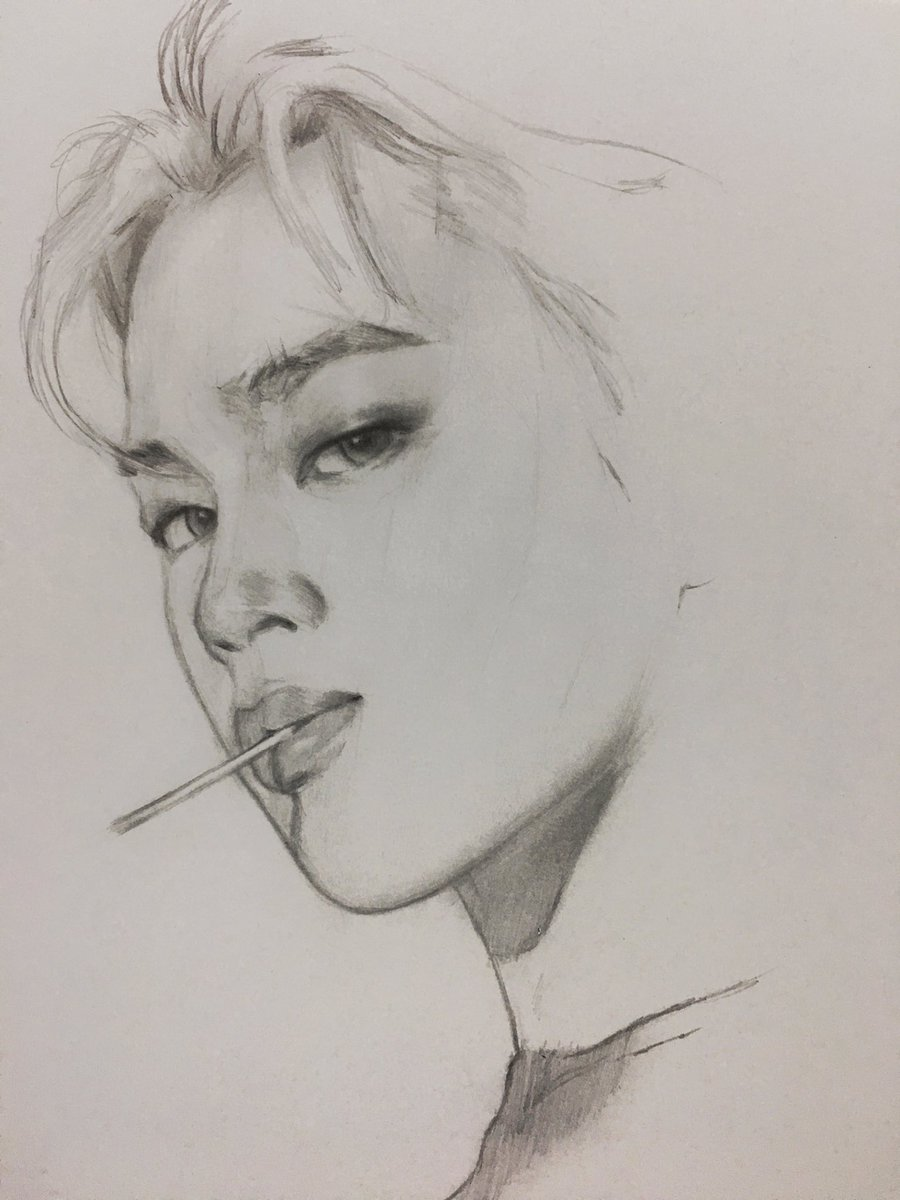 Dika Toolkit On Twitter U0026quot; Jimin #sketch #btsu2026