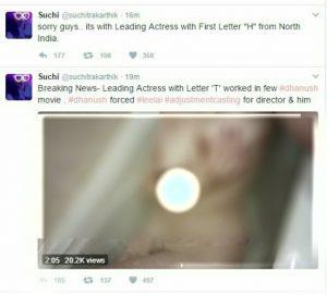 Suchitrasuchi On Twitter Suchi Leaks Hansika Motwani In Leaked