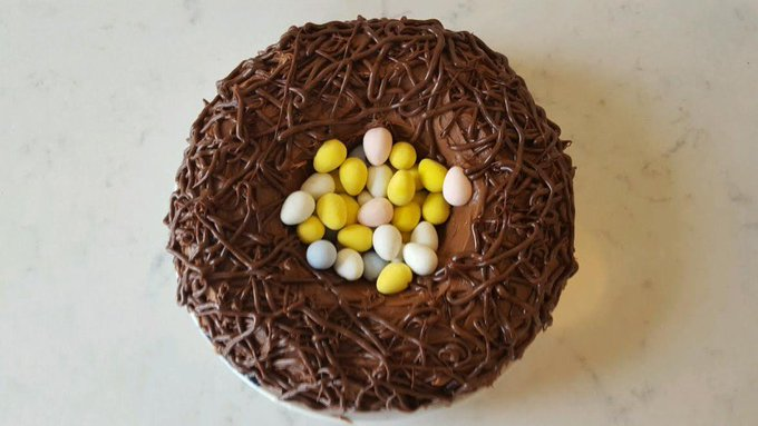 Robin's Nest Cake Recipe