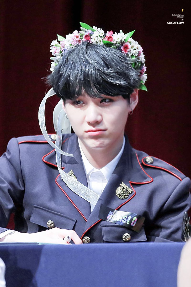 Dejah on twitter myweaknessin3words flower crown yoongi izmirmasajfo