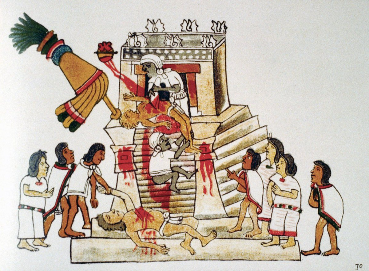 the aztec human sacrifices But, human sacrifice is especially unique to aztec culture because it played such a large role in the daily lives of indigenous people that being said, here are ten unique facts about aztec sacrificial rituals that i found especially interesting.