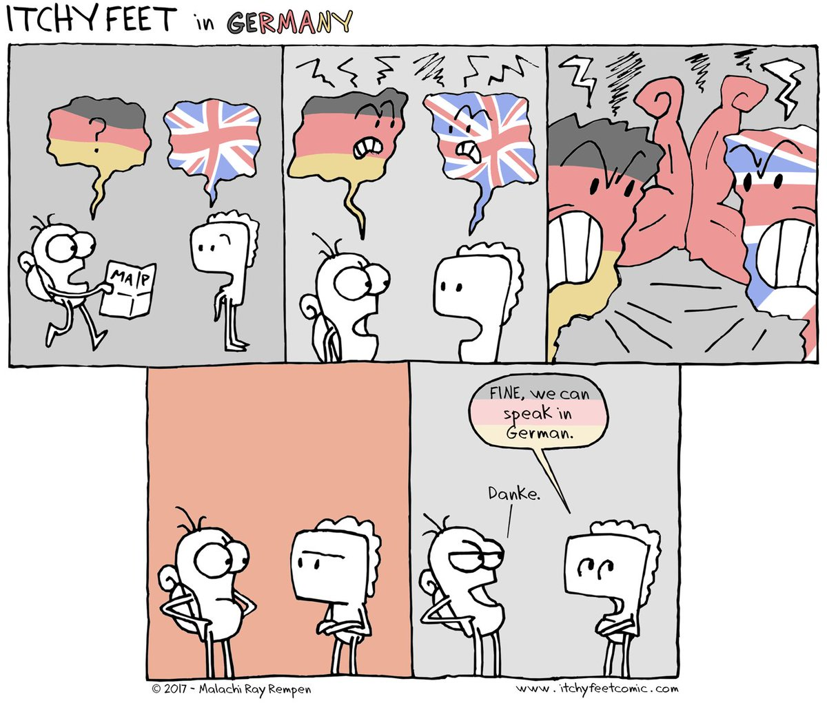 Image result for itchy feet german