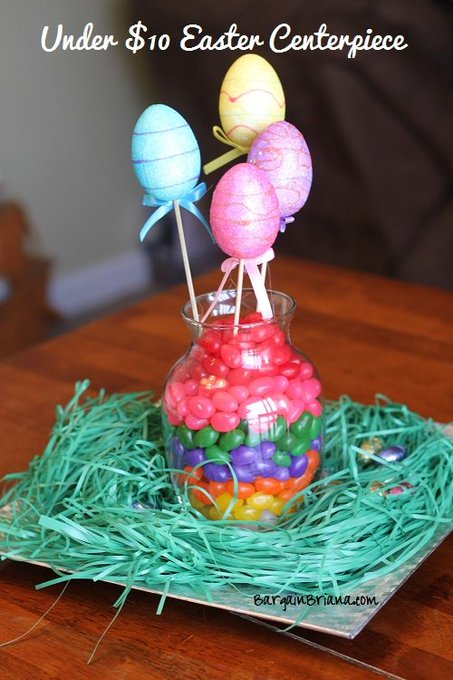 Under $10 Easter Centerpiece Idea